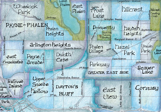 Welcome To BigStick Inc Minneapolis St Paul Neighborhood Map